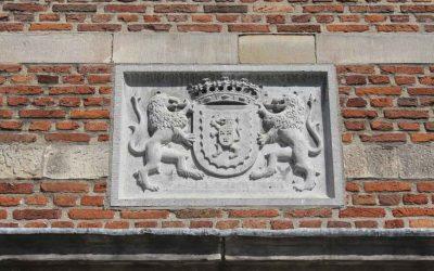 Wapen gevelsteen kasteel Bouvigne